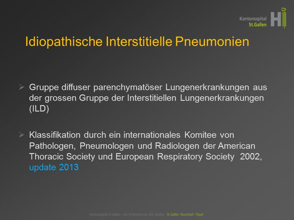 Terminologie der IIPs gemäss ATS – ERS Klassifikation 2002 u.