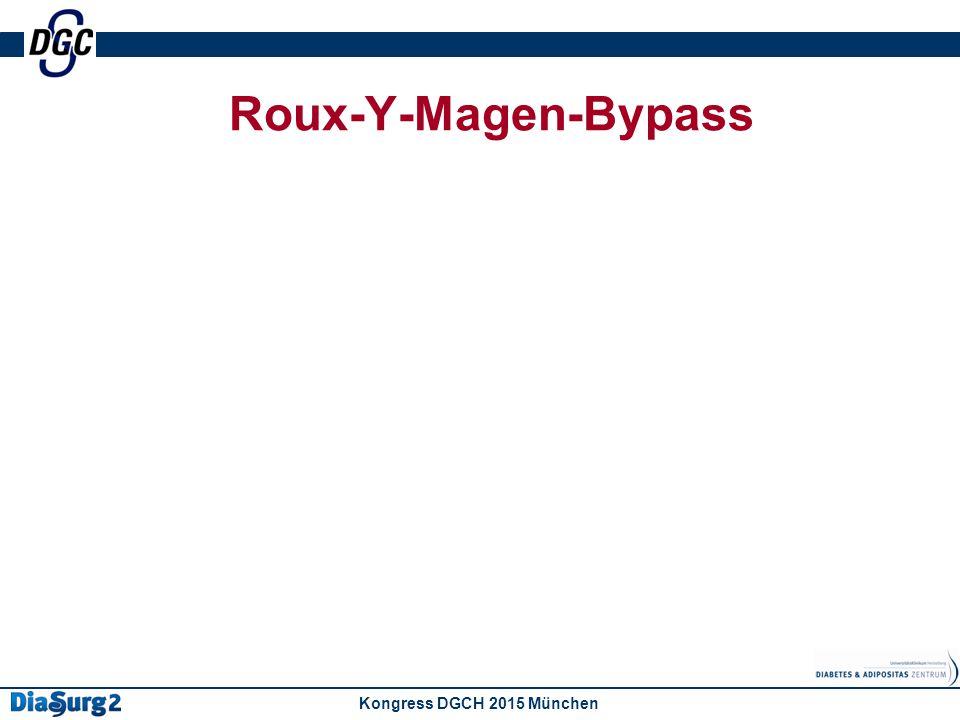 Roux-Y-Magen-Bypass Kongress DGCH 2015 München