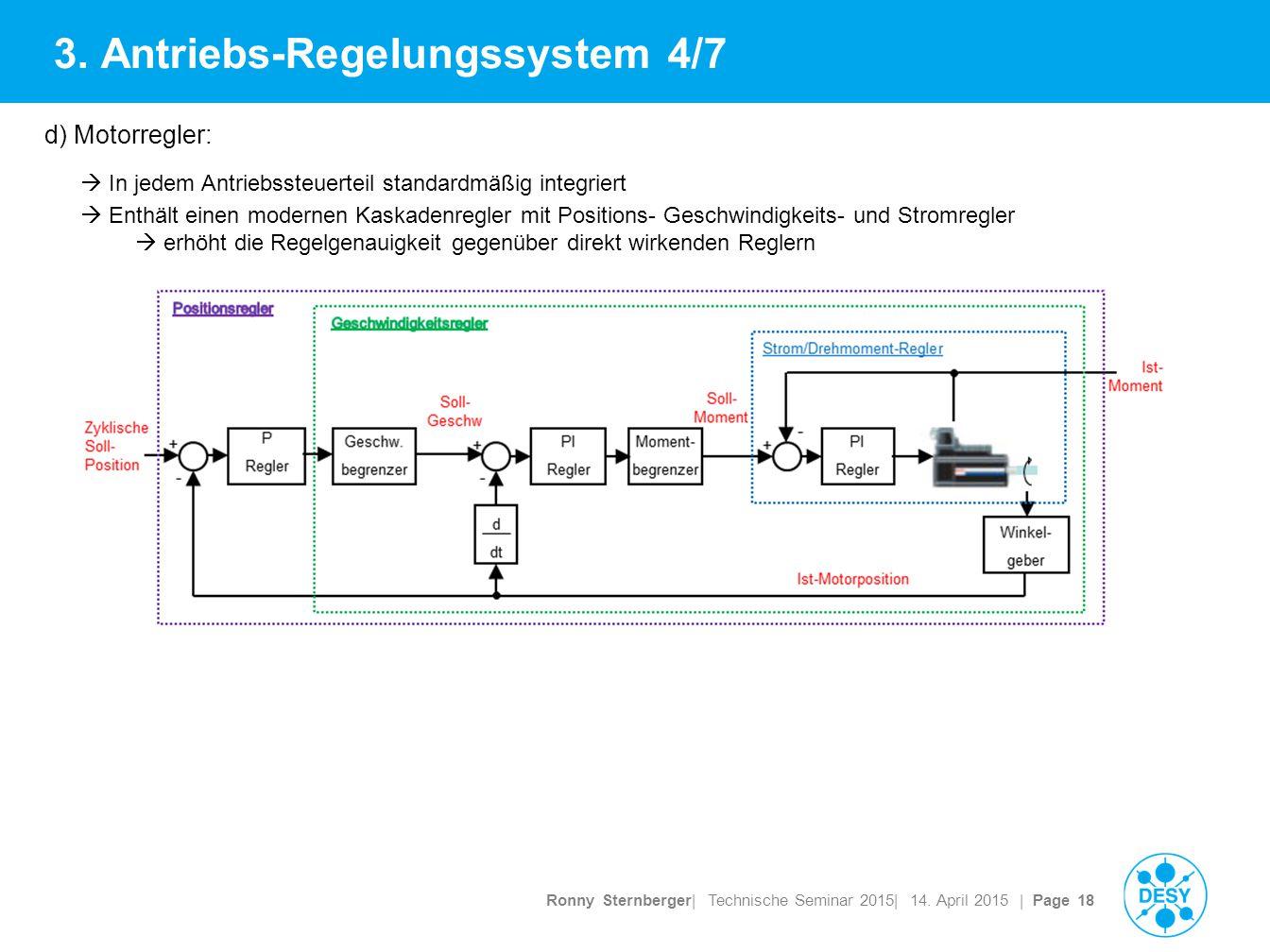 Ronny Sternberger| Technische Seminar 2015| 14. April 2015 | Page 18 3.