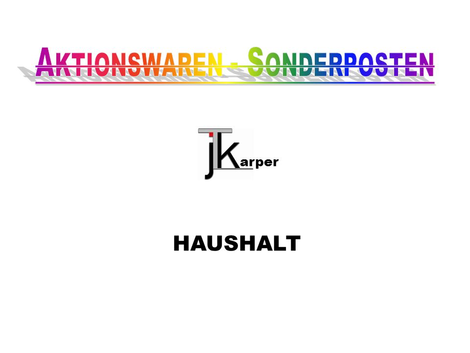 HAUSHALT arper