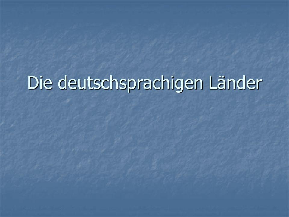 Deutschland Amtssprache: Deutsch Amtssprache: Deutsch Einwohnerzahl: 82 Millionen Einwohnerzahl: 82 Millionen Staatsform: parlamentarische Bundesrepublik Staatsform: parlamentarische Bundesrepublik Regierung: Kanzlerin Angela Merkel Regierung: Kanzlerin Angela Merkel Ausländer: 7.2 Millionen Ausländer: 7.2 Millionen Autokennzeichen: D Autokennzeichen: D 16 Bundesländer 16 Bundesländer Hauptstadt: Berlin Hauptstadt: Berlin