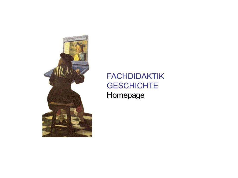 FACHDIDAKTIK GESCHICHTE Homepage