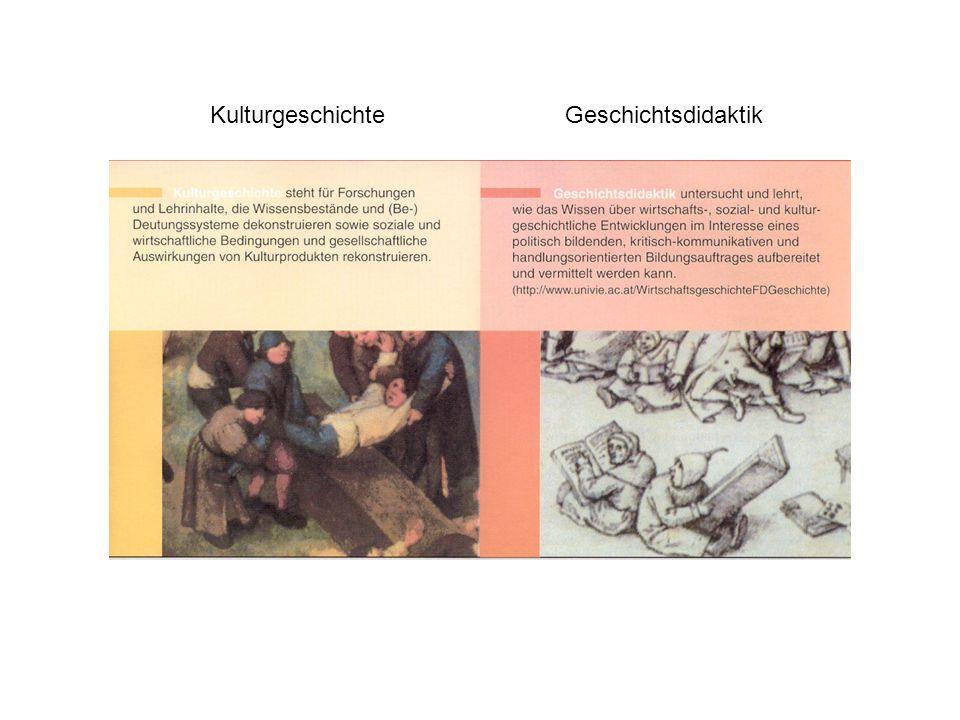 KulturgeschichteGeschichtsdidaktik