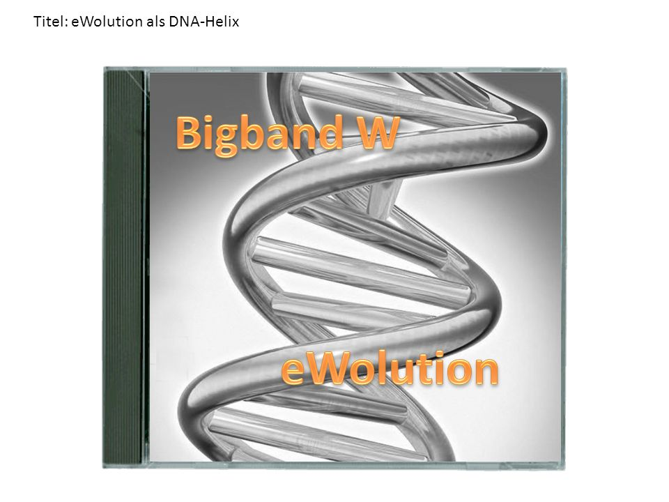 Titel: eWolution als DNA-Helix