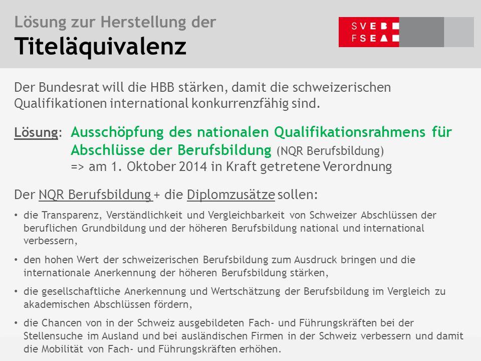 Bern, 5. Mai 2015 – Ph. Vaucher Baustellen der Weiterbildungspolitik Der Bundesrat will die HBB stärken, damit die schweizerischen Qualifikationen int