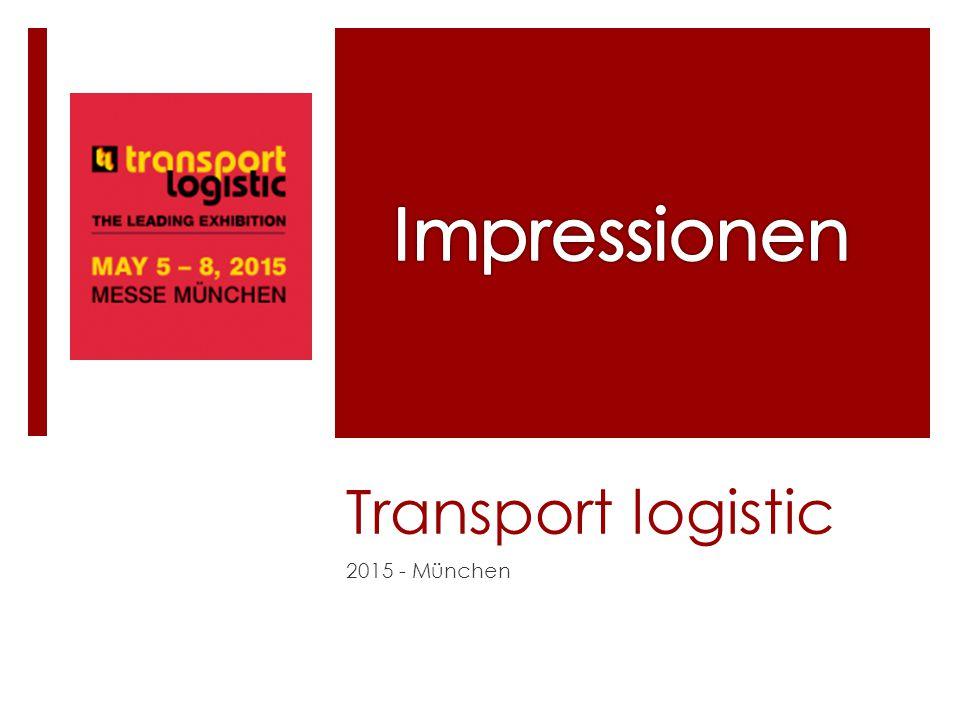 Transport logistic 2015 - München