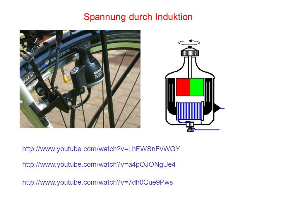 Stromdurchflossener Leiter im Magnetfeld Als Folge der Lorentzkraft auf bewegte Ladungen erfährt der Leiter eine Kraftwirkung (elektromotorische Kraft).