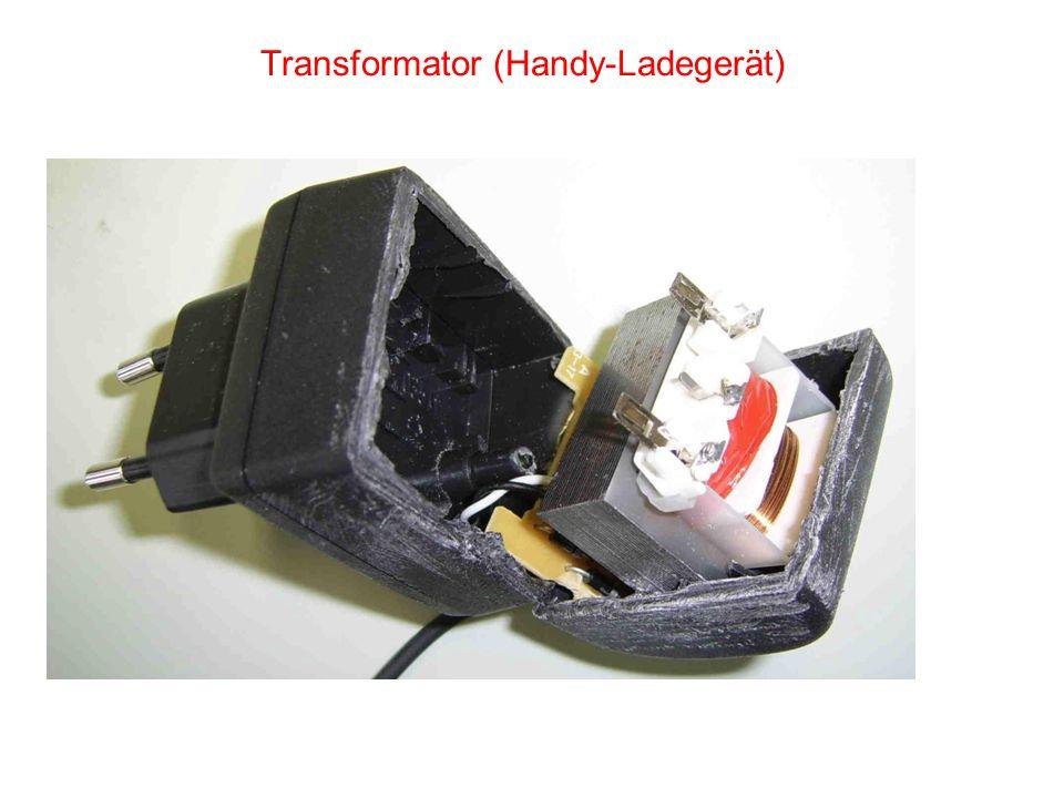 Transformator (Handy-Ladegerät)