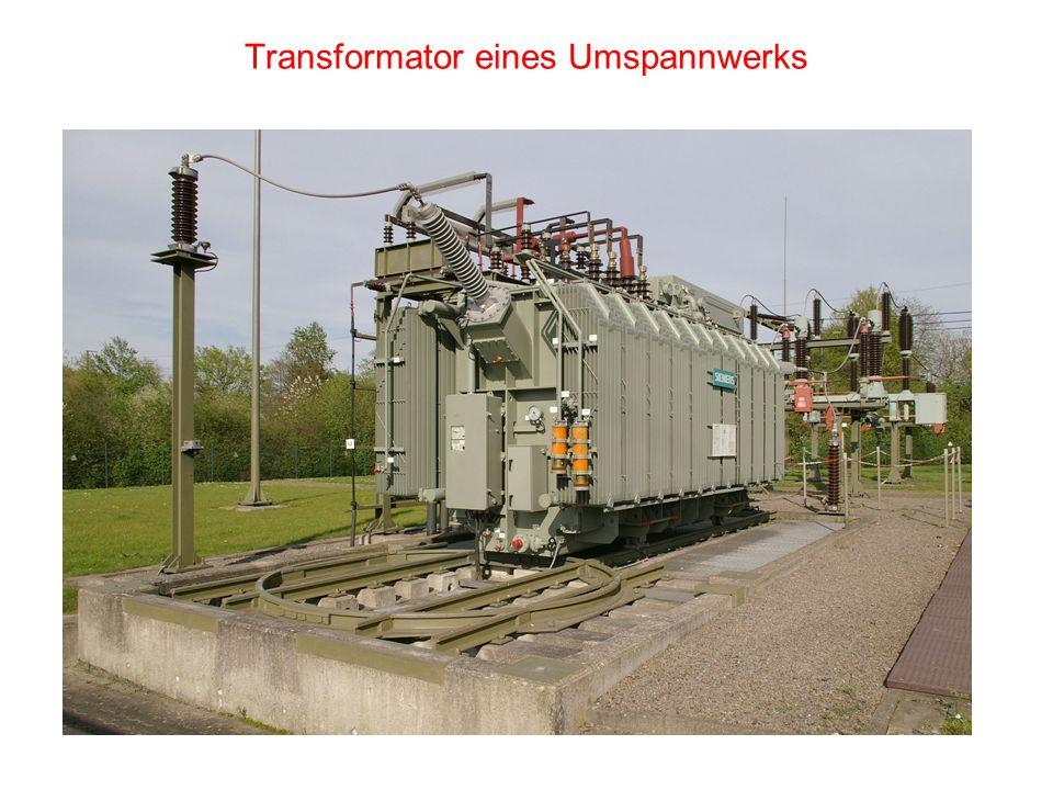 Transformator eines Umspannwerks
