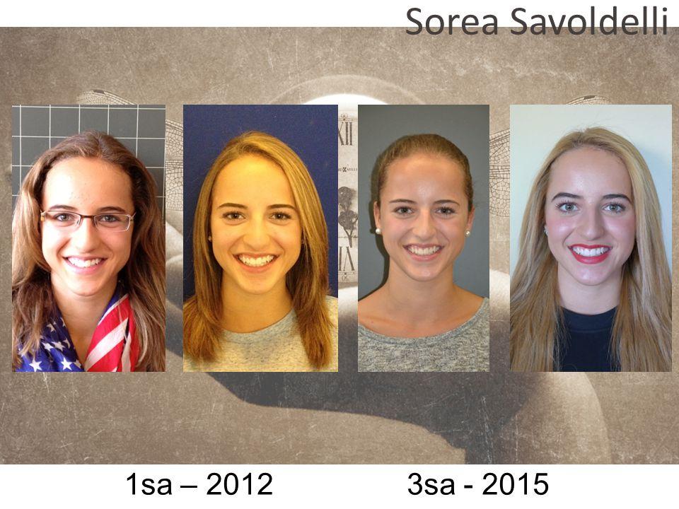 1sa – 2012 3sa - 2015 Sorea Savoldelli