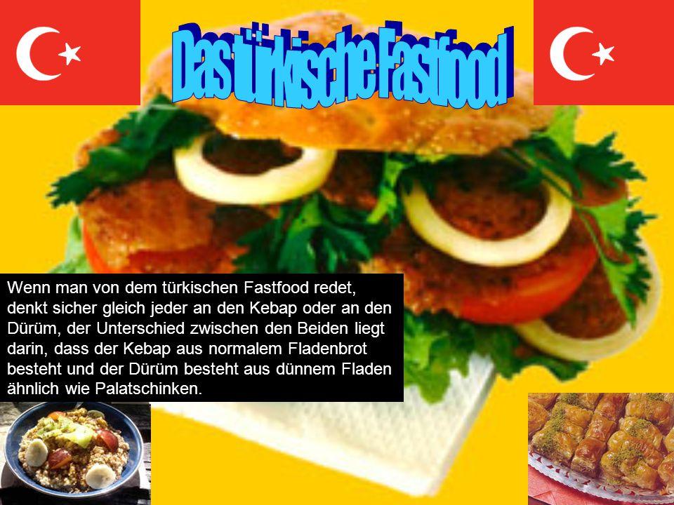 Wenn man von dem türkischen Fastfood redet, denkt sicher gleich jeder an den Kebap oder an den Dürüm, der Unterschied zwischen den Beiden liegt darin,