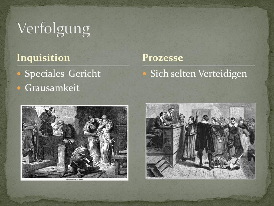 Inquisition Speciales Gericht Grausamkeit Sich selten Verteidigen Prozesse