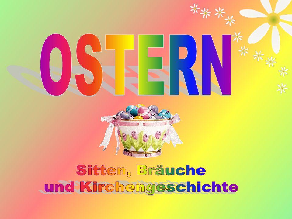 12 Der Osterhase wurde zum Symbol des Osterfestes.