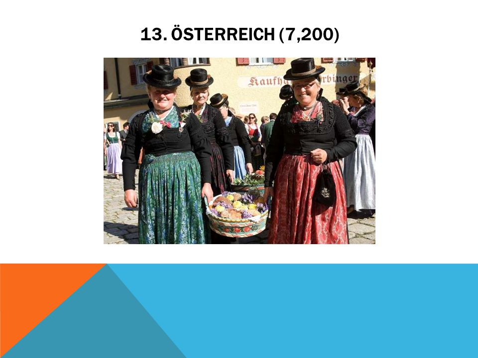 13. ÖSTERREICH (7,200)