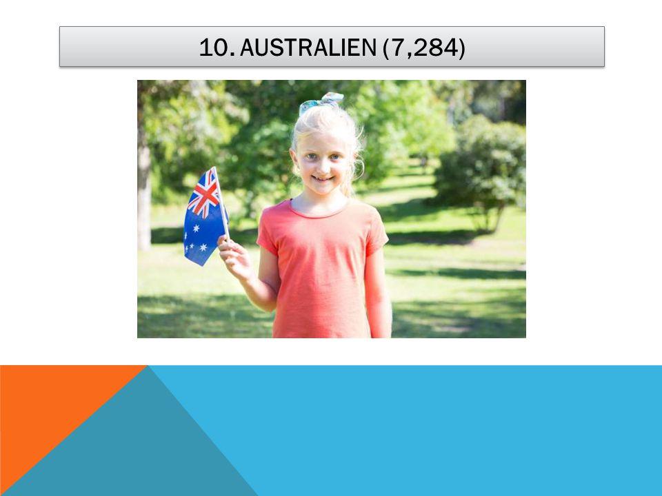 10. AUSTRALIEN (7,284)
