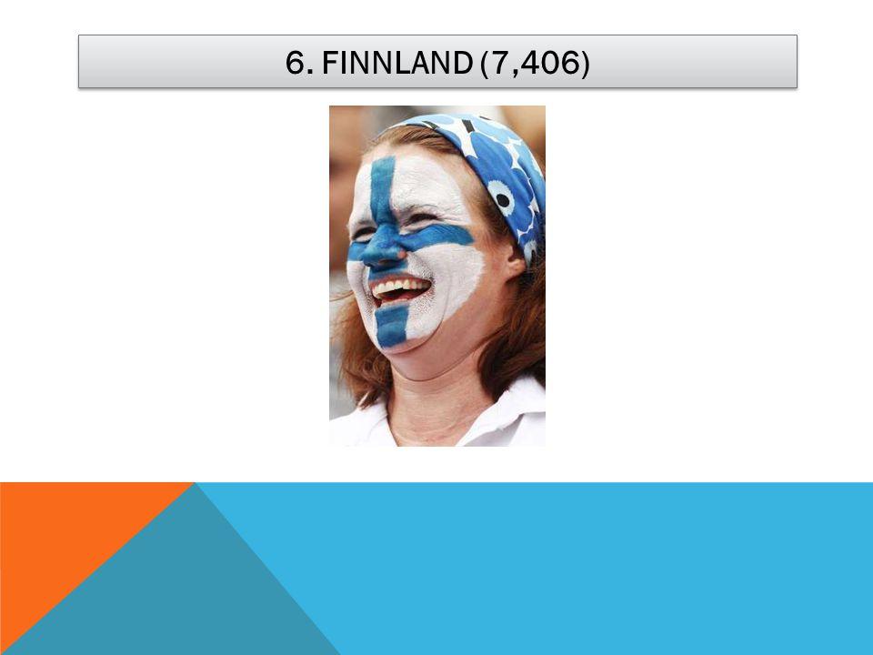 6. FINNLAND (7,406)