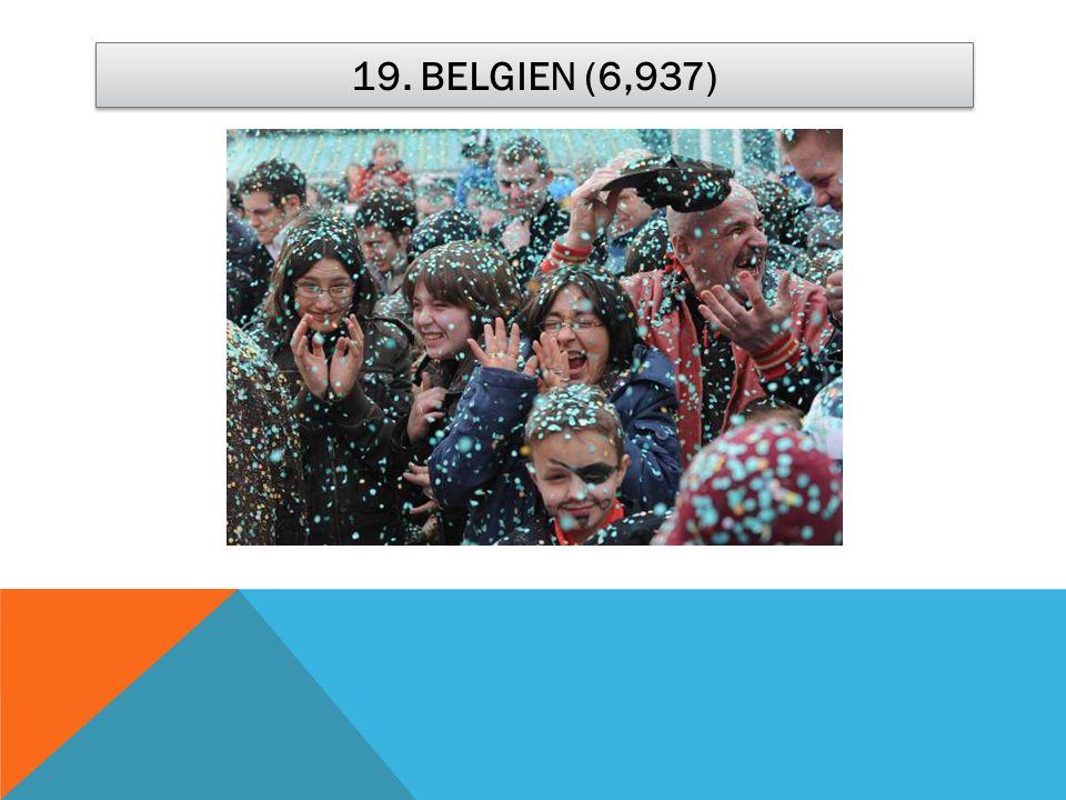 19. BELGIEN (6,937)