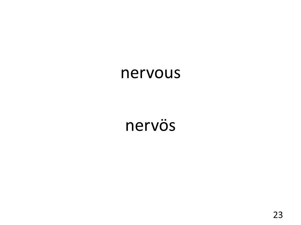 nervous nervös 23