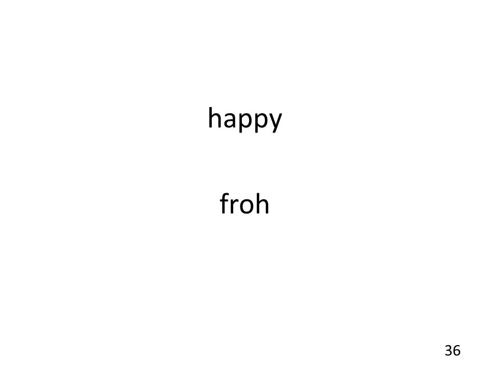 happy froh 36