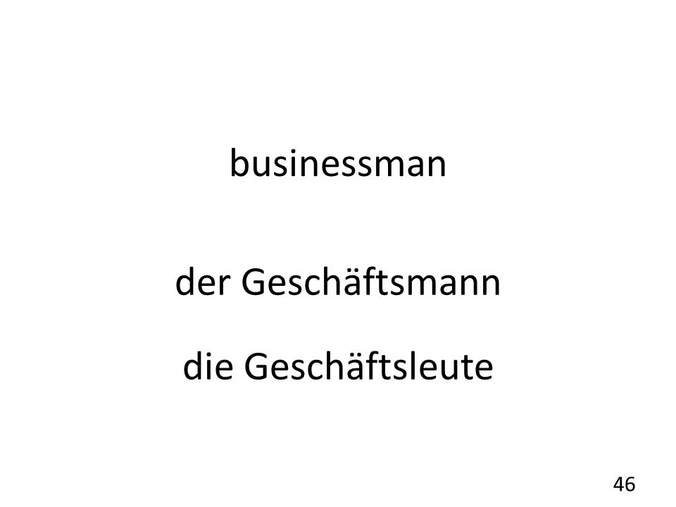 businessman der Geschäftsmann die Geschäftsleute 46