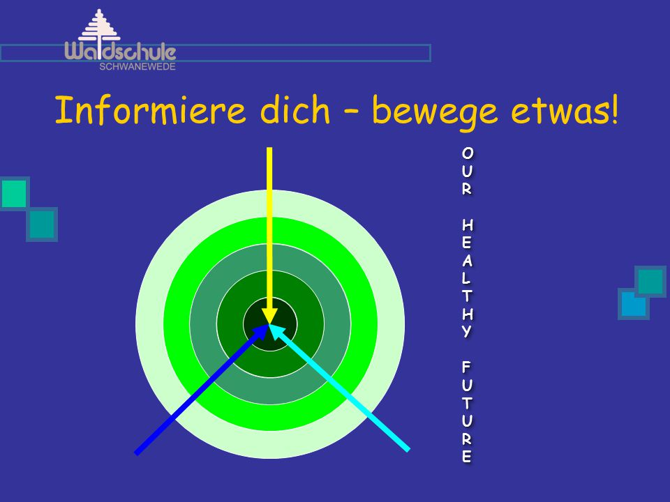 Informiere dich – bewege etwas! OUROUR HEALTHY HEALTHY FUTURE FUTUREOUROUR HEALTHY HEALTHY FUTURE FUTURE OUROUR HEALTHY HEALTHY FUTURE FUTUREOUROUR HE