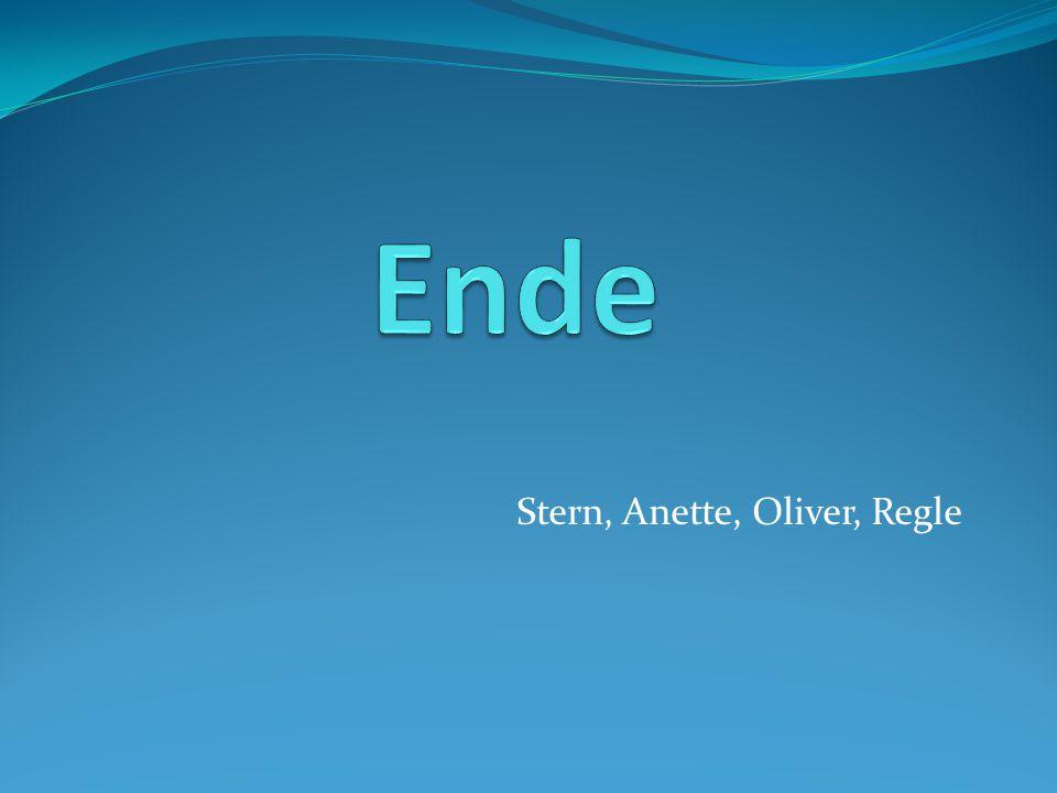 Stern, Anette, Oliver, Regle