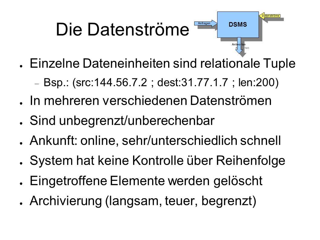 Timestamps Kombination (1/3) ● Aber: was bei Kombination aus 2 Streams.