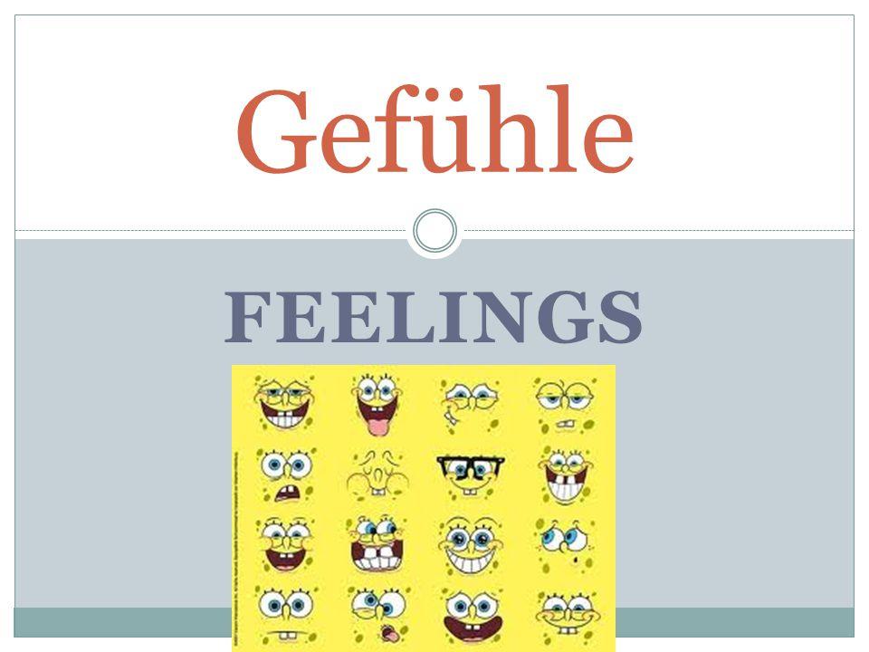 FEELINGS Gefühle