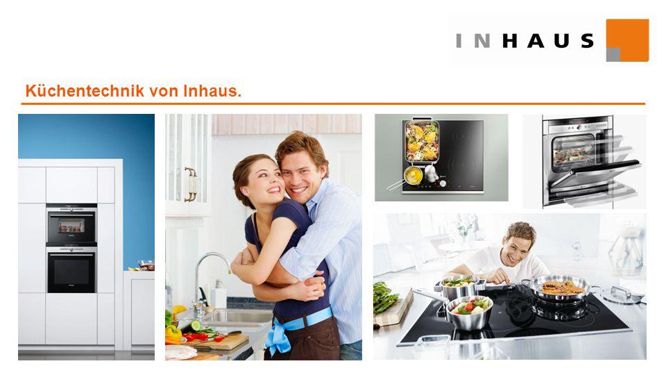 Küchentechnik von Inhaus.