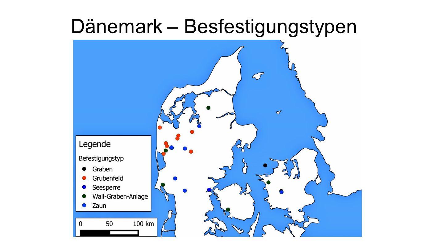 Dänemark – Besfestigungstypen