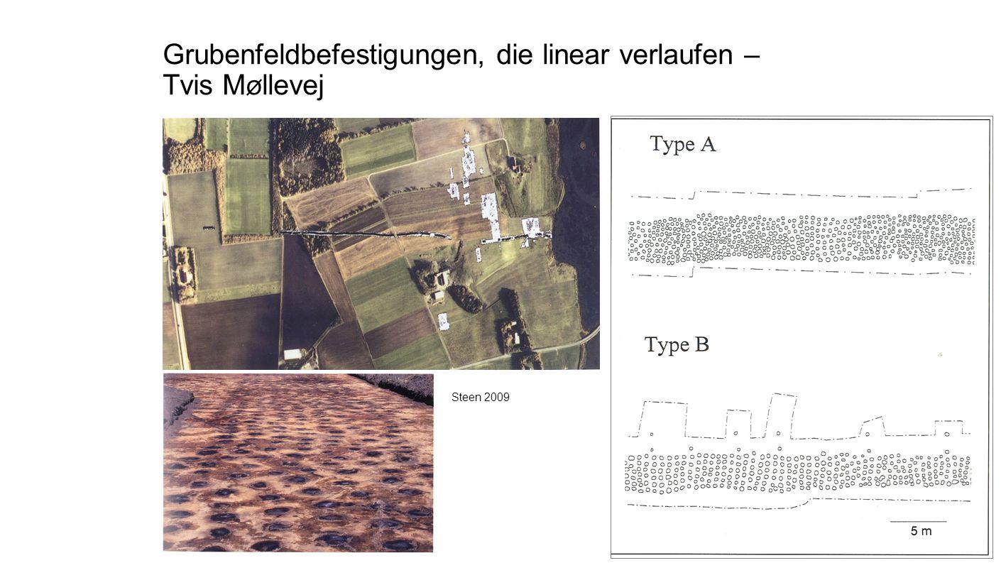 Grubenfeldbefestigungen, die linear verlaufen – Tvis M ø llevej Steen 2009