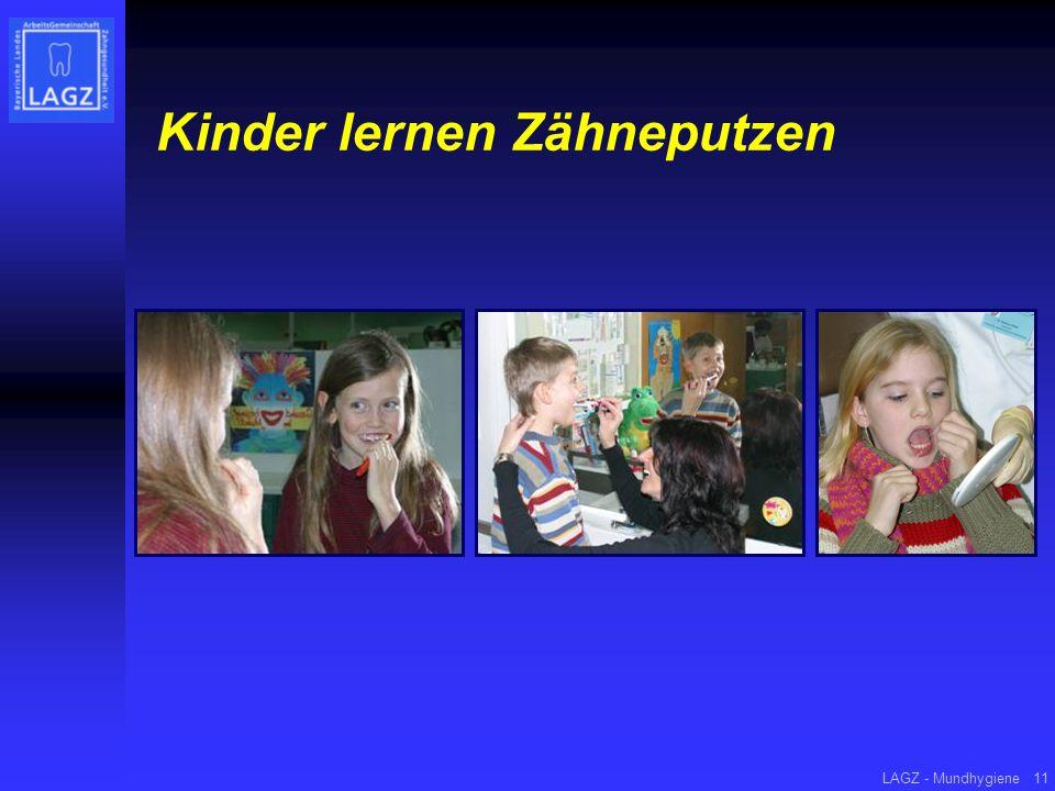 LAGZ - Mundhygiene11 Kinder lernen Zähneputzen