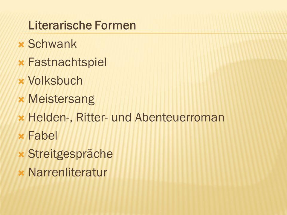  Schwank: bedeutet Streich oder lustiger Einfall und stammt vom mittelhochdeutschen Wort swanc.