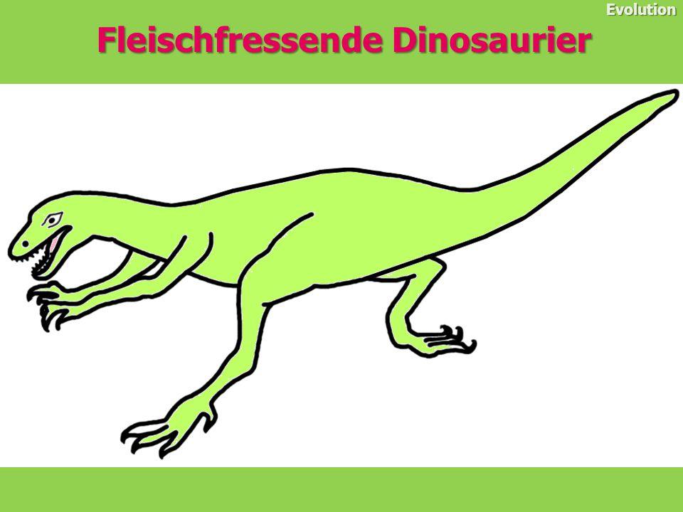 Fleischfressende Dinosaurier Evolution Compsognathus war einer der kleinsten Dinosaurier, er lebte vor etwa 150 Millionen Jahren in der späten Jurazeit.