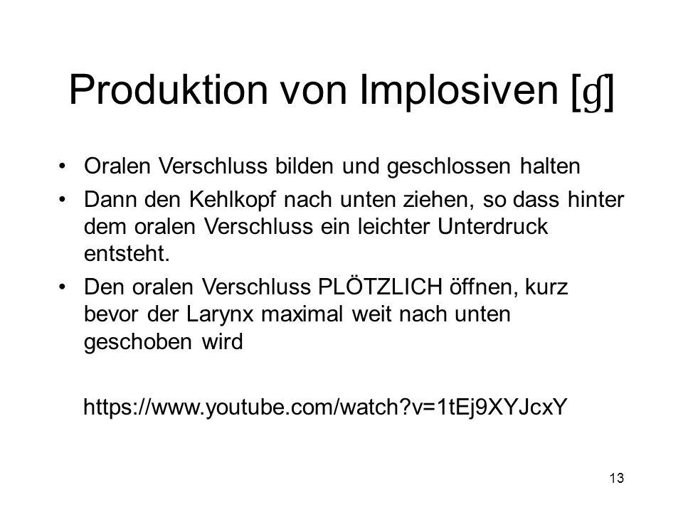 12 Produktion von Ejektiven [k ' ]