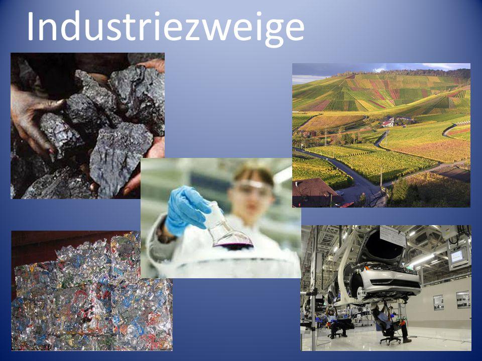 Industriezweige