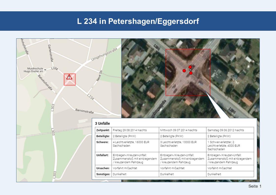 Seite 1 L 234 in Petershagen/Eggersdorf