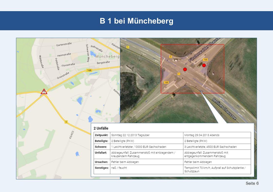 Seite 6 B 1 bei Müncheberg