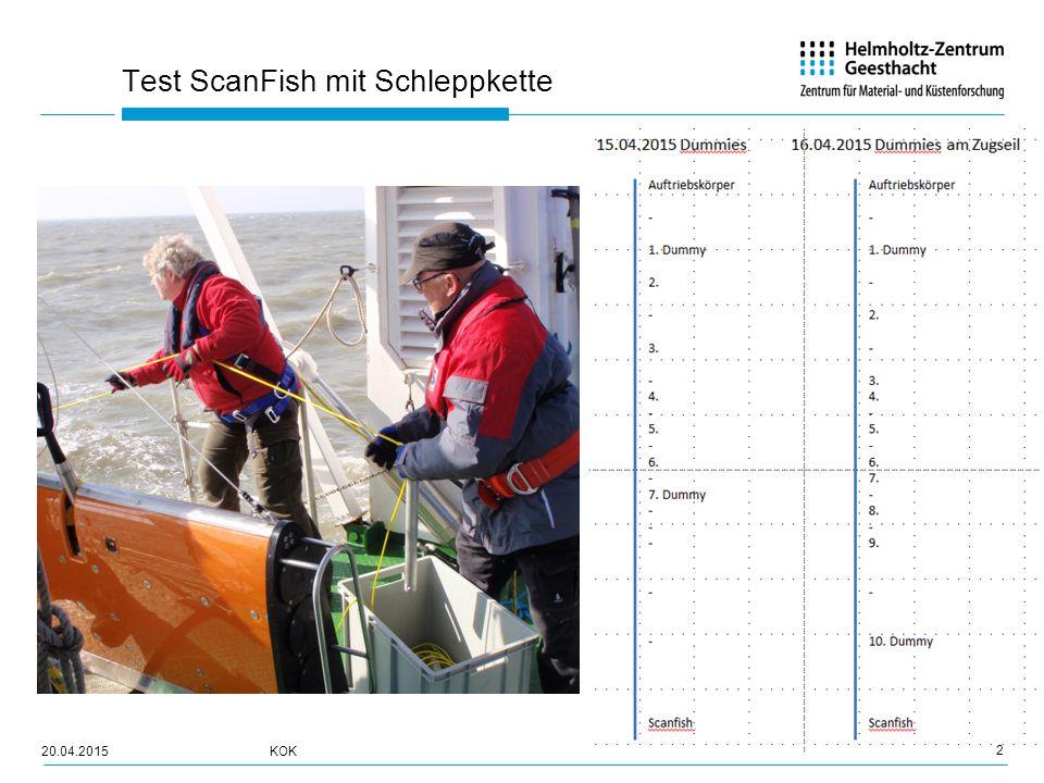 Test ScanFish mit Schleppkette 3 20.04.2015KOK