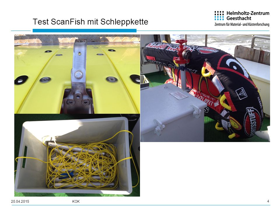 Test ScanFish mit Schleppkette 5 20.04.2015KOK