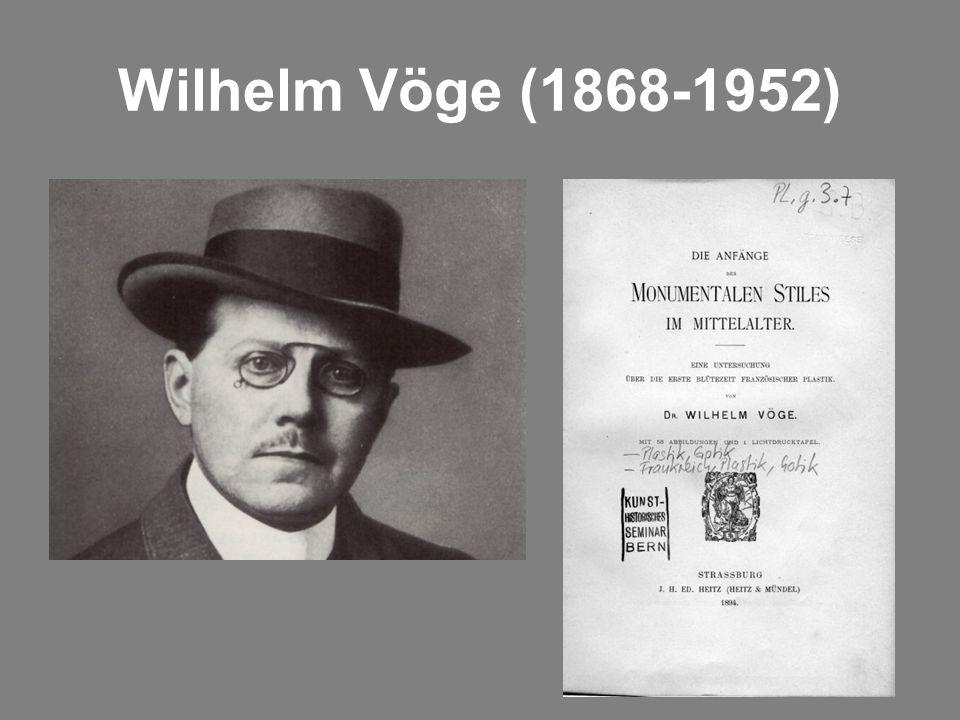 Wilhelm Vöge (1868-1952)