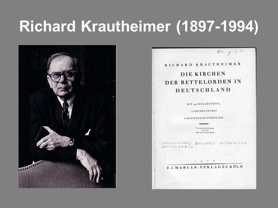Richard Krautheimer (1897-1994)