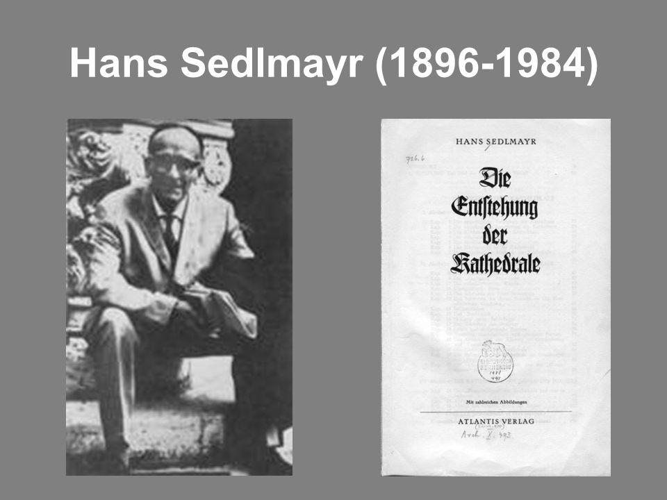 Hans Sedlmayr (1896-1984)
