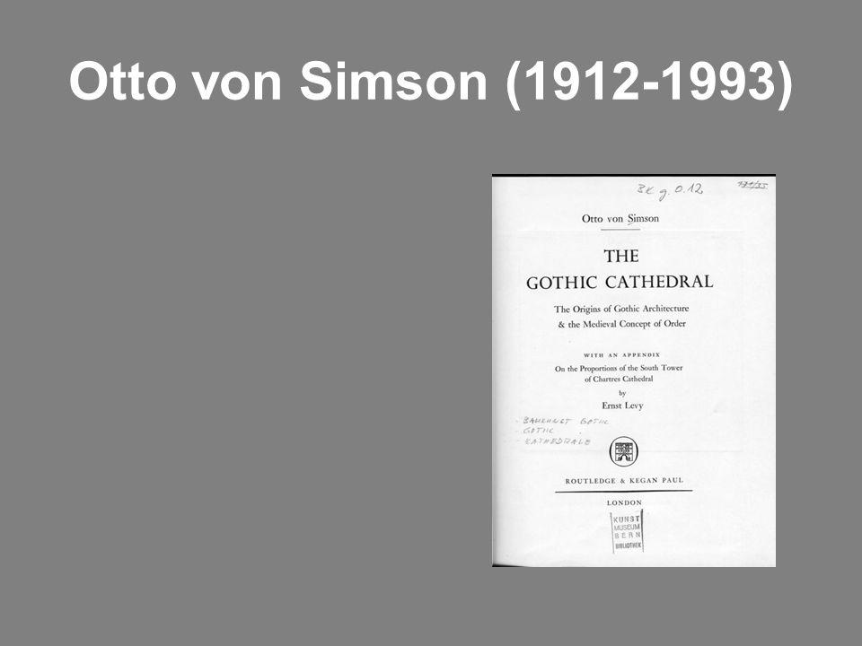 Otto von Simson (1912-1993)