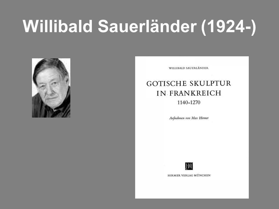 Willibald Sauerländer (1924-)