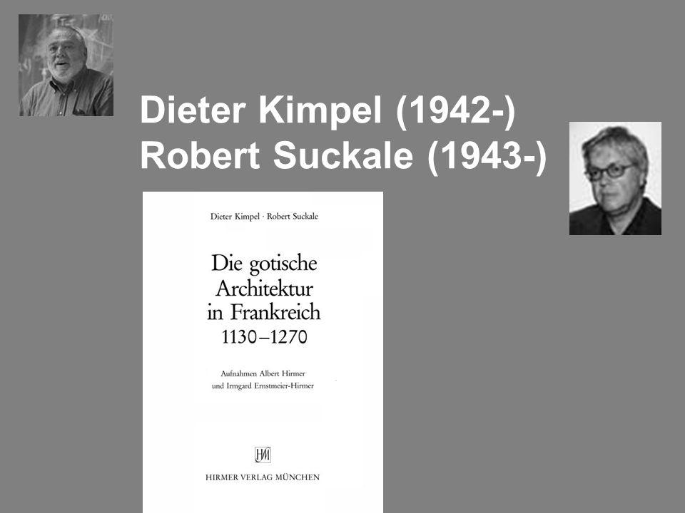 Dieter Kimpel (1942-) Robert Suckale (1943-)