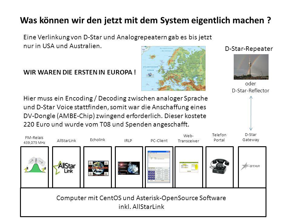 Computer mit CentOS und Asterisk-OpenSource Software inkl.