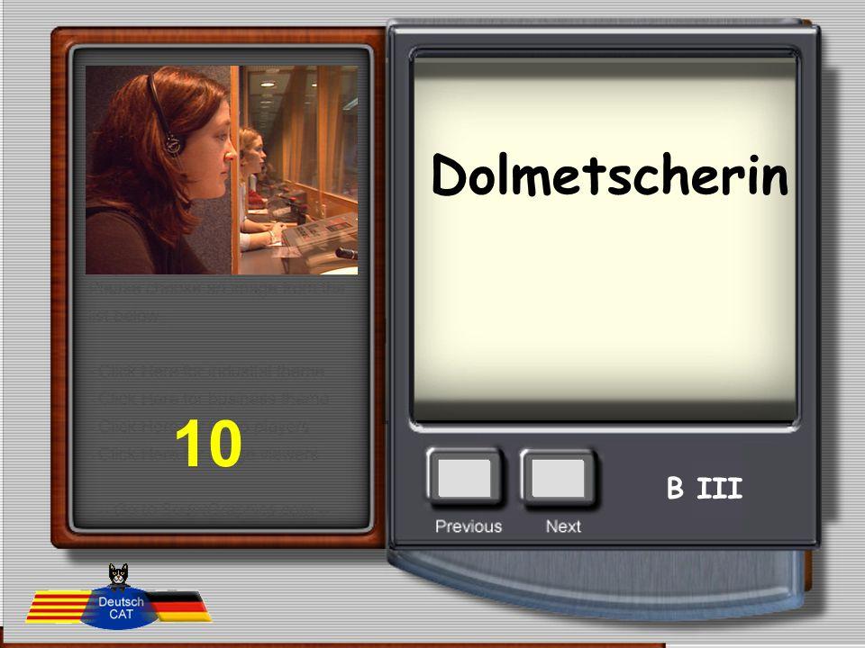 Dolmetscherin 10 B III