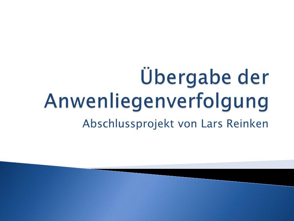 Abschlussprojekt von Lars Reinken