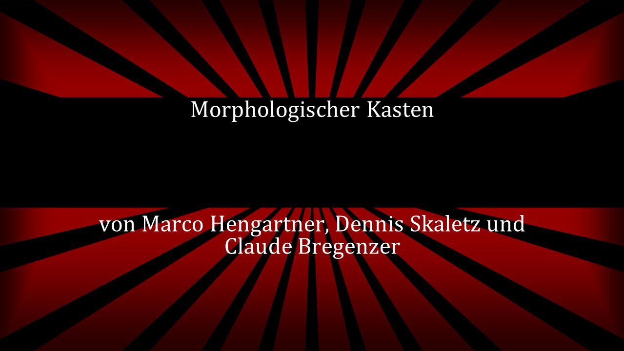 von Marco Hengartner, Dennis Skaletz und Claude Bregenzer Morphologischer Kasten